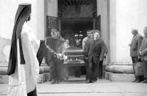Похороны вора в законе Саши Шорина
