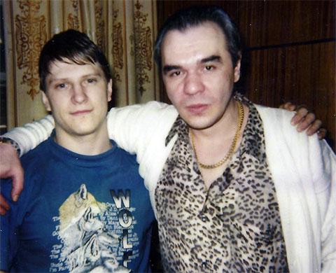 Слева: вор в законе Сергей Липчанский (Сибиряк) и авторитет Сергей Мамсуров (Мансур)