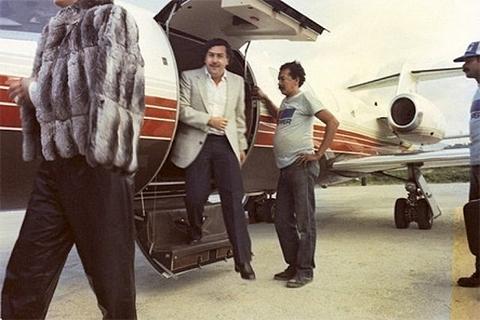 У Эскобара были личные самолеты