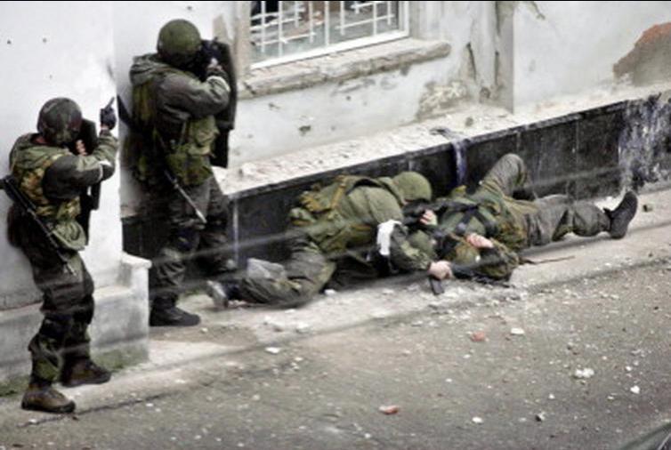 Вооруженная банда с Кавказа задержанна