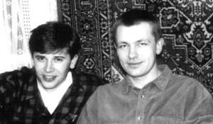 Евгений Совков (Совок, справа)