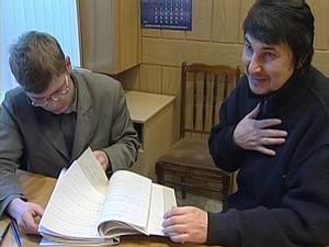 Эдуард Тагирьянов (справа) и его адвокат