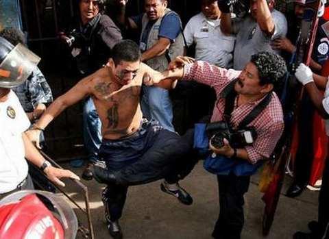 Арест члена банды