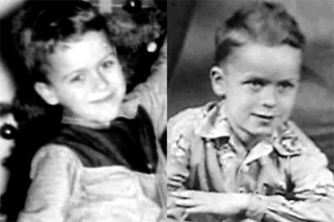 Детские фото Теда Банди