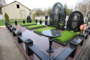 Могила основателя банды Николая Цапока