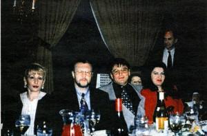 Вячеслав Иваньков в ресторане на Брайтон - Бич