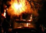 Поджог автозака в новый 2012 год