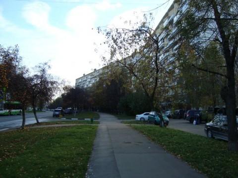 Домодедовская улица, по которой делал пробежку Сильвестр. На приступах к месту наперсточной «работы» — площадке подле универмага «Белград».