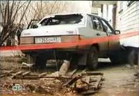 Расстрелянная машина Рузляева