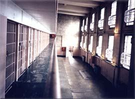 Алькатрас. Одна из самых знаменитых тюрем.
