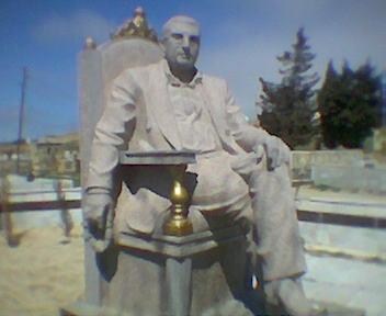 Могила вора в законе Бахтияра Керимова (Бахо Новханинский)