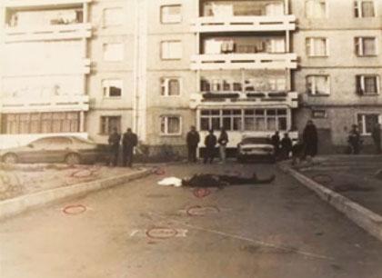 Место убийства Ахримюка
