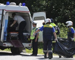 Глава полиции Ростова-на-Дону погиб в ДТП, столкнувшись с КамАЗом.