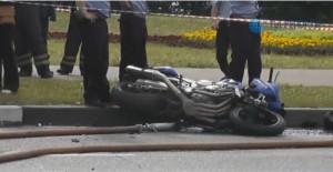 Барсеточники попали в аварию в Москве