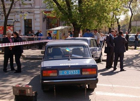 Место убийства криминального авторитета Баталова-Тохи