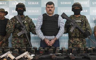 В Мексике арестован один из лидеров наркокартеля «Гольфо»