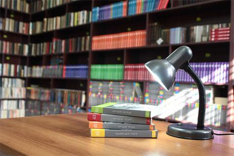 Библиотека. Очень много книг на русском