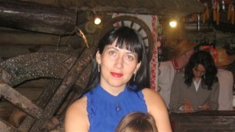 Жена Сергея Цапка