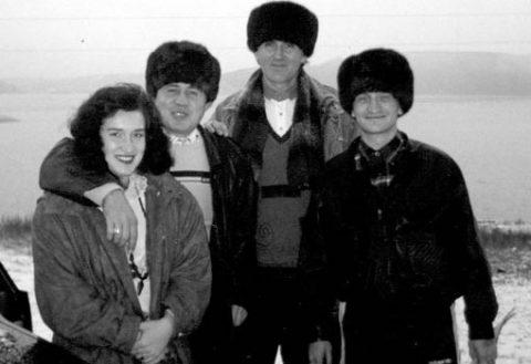 Правоохранители отрабатывали несколько версий убийства Игоря Филиппова (второй слева)