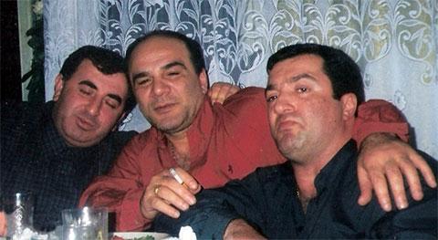 Слева воры в законе: Николай Тутберидзе (Маци), Мирон Горгидзе (Мирикия), Реваз Цицишвили (Цицка)