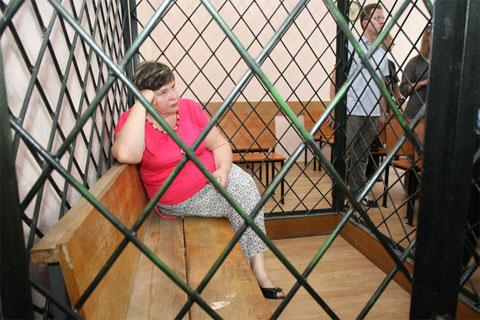 Сейчас Надежда Цапок находится в тюрьме. Ее осудили по обвинению в мошенничестве в 2010 году на 3 года лишения свободы в исправительной колонии общего режима со штрафом в доход государства в размере 500 тысяч рублей.