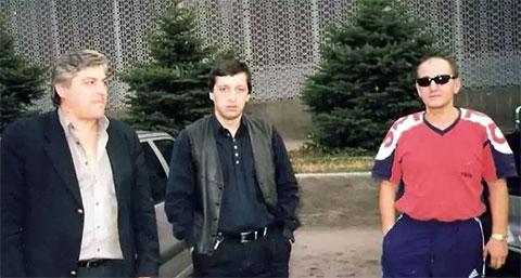 Слева воры в законе: Тенгиз Гавашелишвили (Тенгиз Пицундский), Каха Алшибая (Каха Зугдидский) и Рамаз Дзнеладзе (Рамаз Кутаисский)