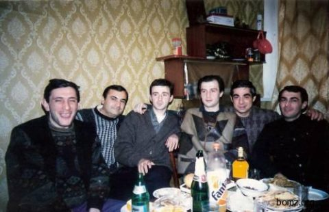 Воры в законе Малхаз Мгалоблишвили (Курша), Паат Мамардашвили (Паат), Тенгиз Луарсабишвили (Тенго), Раули Кирия (Рауль)