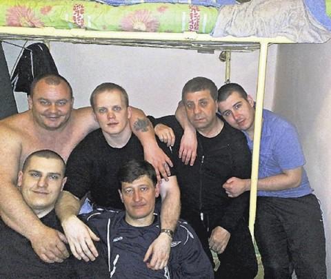Участники ОПГ Башмаки в СИЗО