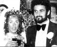 Питер Сатклифф в день свадьбы 10 августа 1974 года