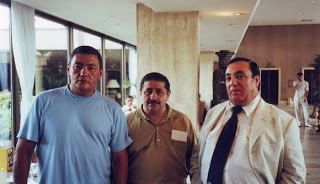 Слева Гафур Рахимов,  справа вор в законе Аслан Усоян ( дед Хасан)
