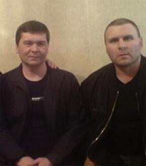Вор в законе Дамир Тимургалеев - Уфимский (слева)