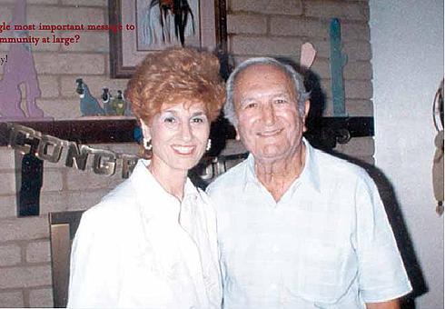 Бонанно Джозеф с женой Фей Лабрузо