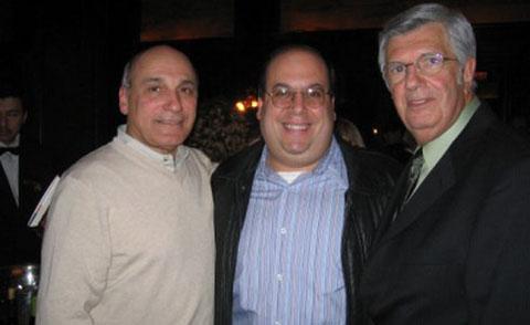 """Редкое фото: Донни Браско(слева) стоит рядом с бывшим¨madе guy"""" Биллом Боннано"""