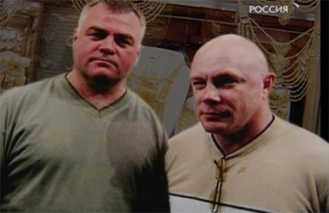 Слева криминальный авторитет Александр Иванович Костенко по прозвищу Лом, справа его правая рука Анатолий Осипов