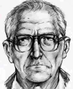 Полицейский портрет постаревшего Зодиака. Так мог бы выглядеть преступник в наши дни, ведь сейчас ему должно было быть уже за 70