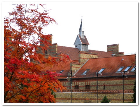 Закрытая мужская тюрьма Vestre Fængsel (Копенгаген, Дания)