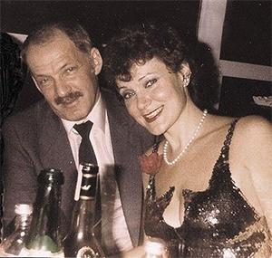 Евсей Агрон и певица Майя Розова