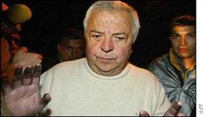 Хильберто Родригес после выхода из тюрьмы в ноябре 2002 года