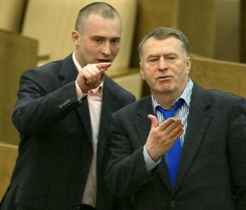 «Майбах» за $1 млн принадлежит фирме сына, а ездит сам Жириновский