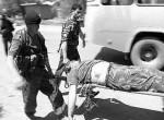 Смерть сотрудника милиции при подрыве автоколонны в Чечне