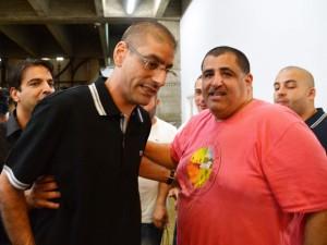 Моти Хасин у окружного суда Тель-Авива 10 сентября 2014 года
