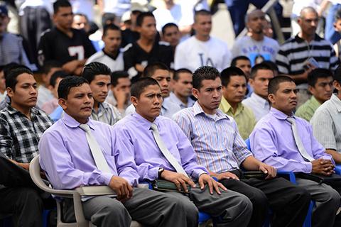 Заключенные - лидеры банды ms13