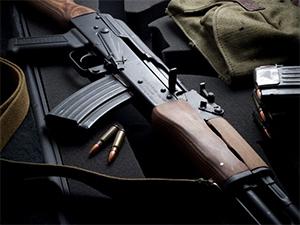 Рязанский солдат умудрился украсть автомат