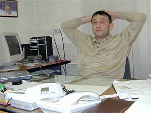 Генеральный директор Коммерческого центра «Вятский» Анатолий Горбушин, убитый в 2003 году.