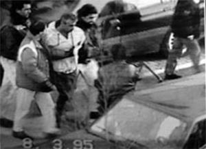 Процедура выдворения Мони Эльсона из Италии. 8 марта 1995 года