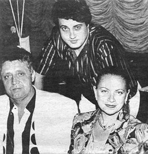Вячеслав, Вадим и Нелли Любарские