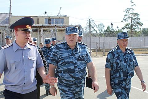 Визит директора ФСИН России Александра Реймера в Свердловскую область