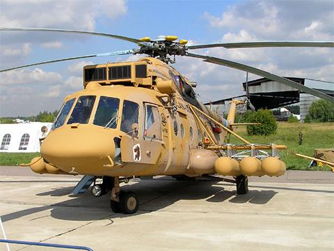 Транспортно-боевой вертолет Ми-171Ш