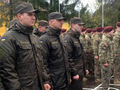 Военные учения под Львовом