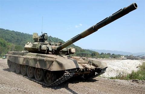Танк Т-90А (модель 2004 г)
